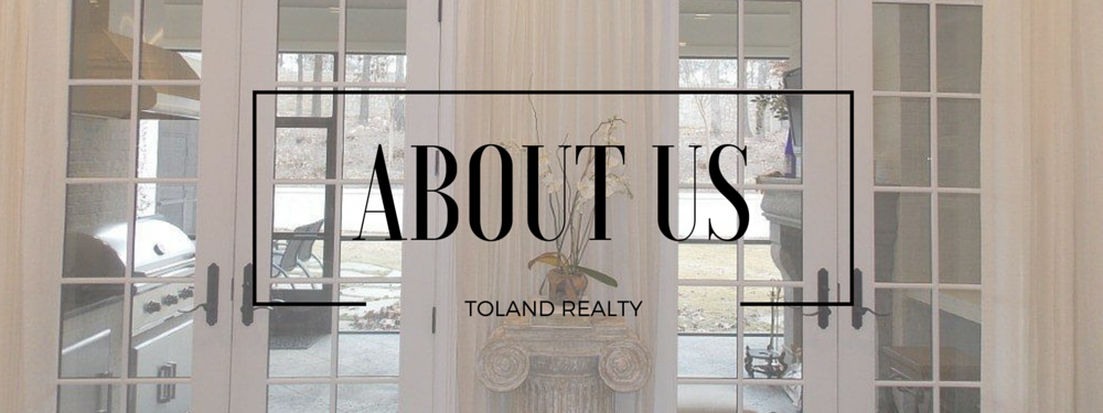 Toland Realty - About Page Banner