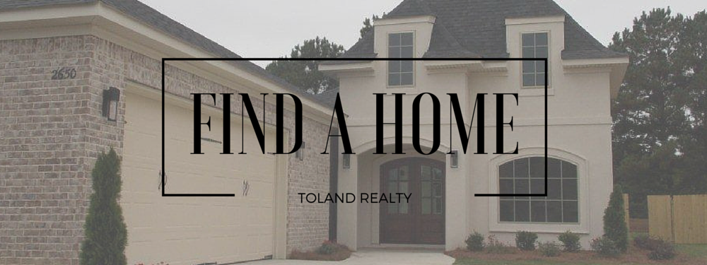 Toland Realty - Find a Home Page Banner