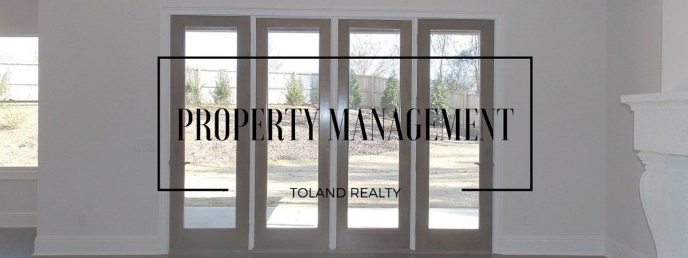 Toland Realty - Property Management Page Banner