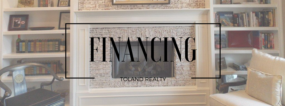 Toland Realty - Financing Page Banner